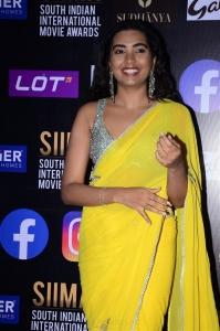 Shivathmika Rajashekar @ SIIMA Awards 2021 Red Carpet Day 1 Photos