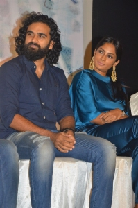 Ashok Selvan, Sriya Reddy @ Sila Samayangalil Movie Press Meet Stills