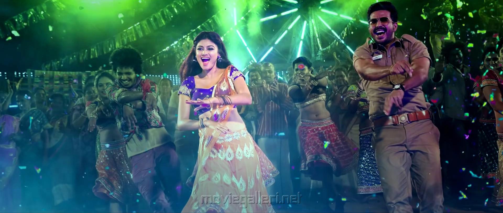 Oviya, Vishnu Vishal in Silukkuvarupatti Singam Dio Rio Diya Song Stills HD