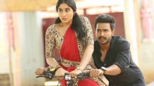 Regina, Vishnu Vishal in Silukkuvarupatti Singam Movie Images HD