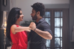 Bhanu Sri Mehra, Bharath in Simba Movie Stills
