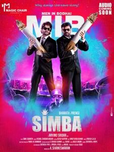 Bharath, Premgi Amaran in Simba Movie First Look Posters