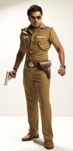Osthi Simbu in Police Getup Stills