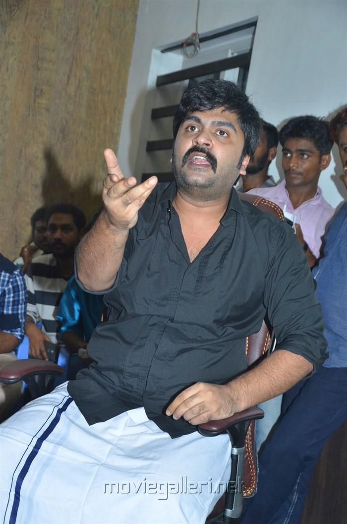 Actor STR Press Meet on Jallikattu Issue Stills