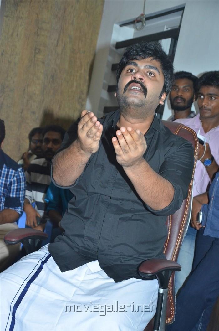 Actor Silambarasan Press Meet on Jallikattu Issue Stills