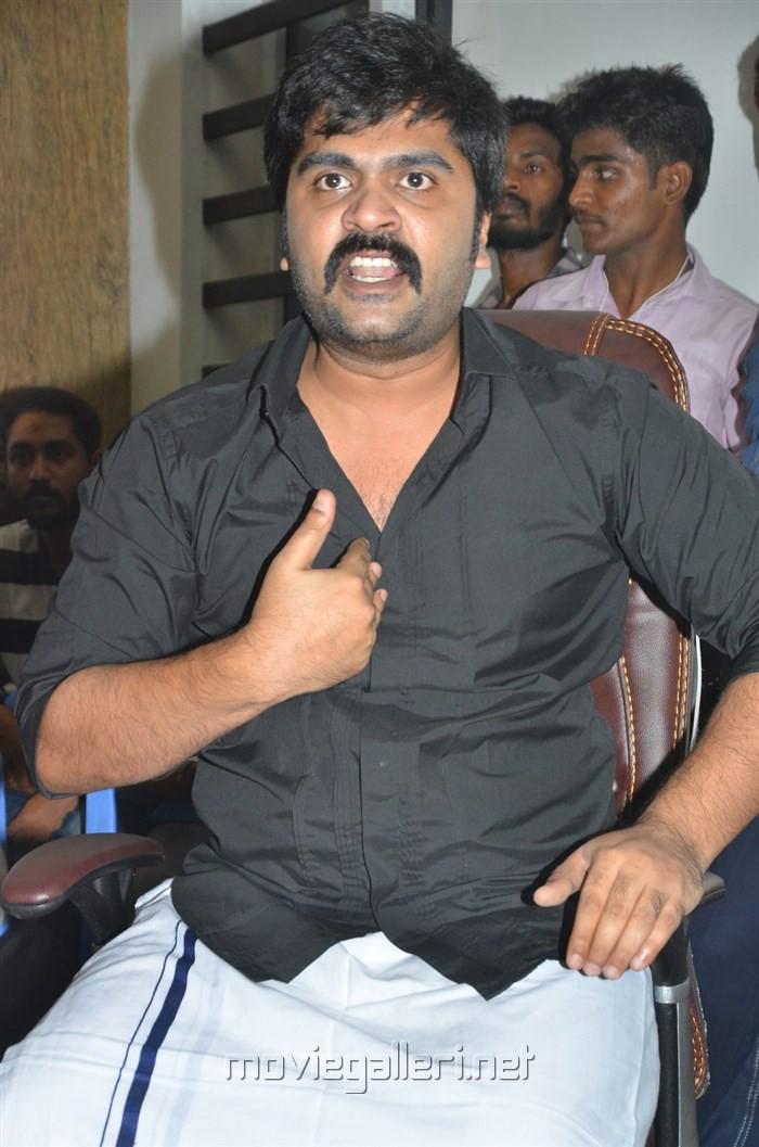 Jallikattu Issue STR Press Meet Stills