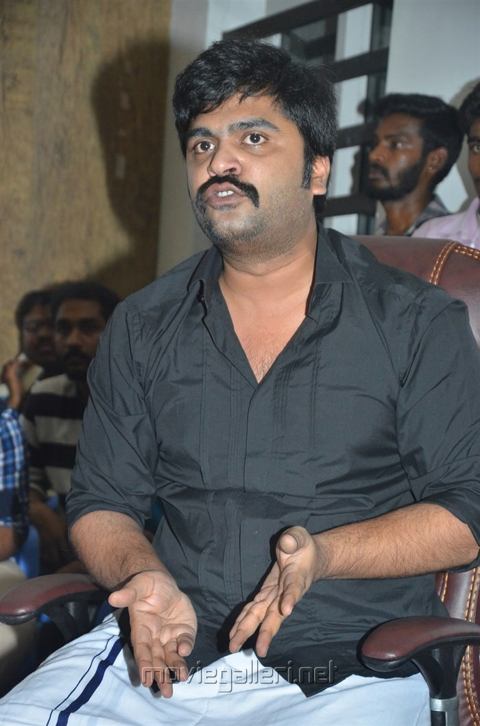 Actor STR Press Meet on Jallikattu Issue Stills