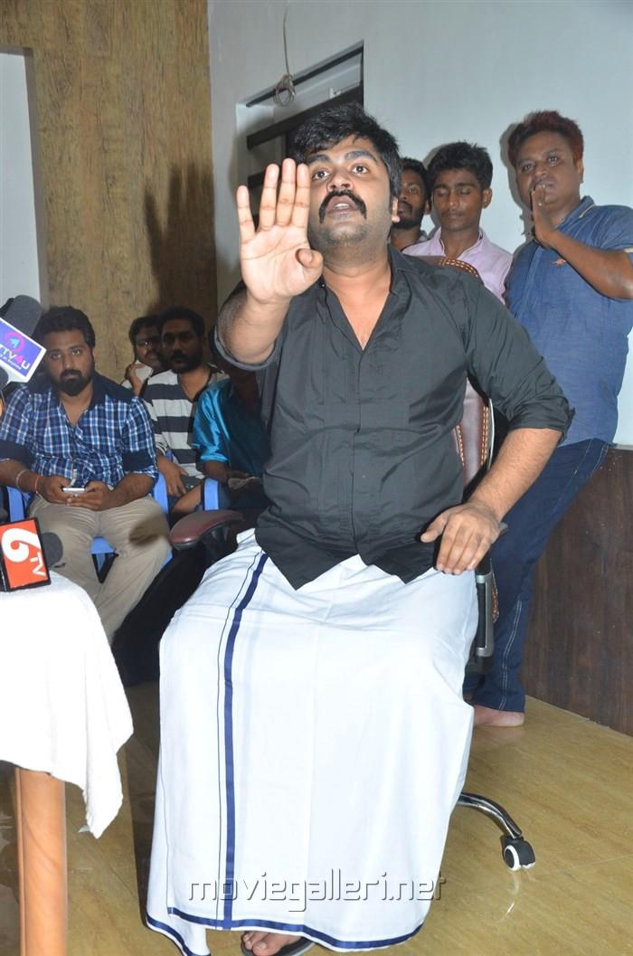 Actor Simbu Press Meet on Jallikattu Issue Stills