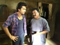 Simbu, Ganesh at Vettai Mannan On Location Photos