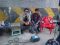 Simbu, Jai at Vettai Mannan On Location Stills