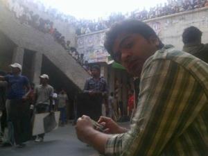 Simbu Vettai Mannan On Location Stills