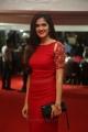 Actress Simran Choudhary in Red Dress Stills