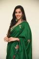 Telugu Actress Simrat Kaur Green Saree Pics