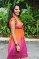 Actress Sindhu Lokanath Hot Photo Shoot Stills in colorful gown