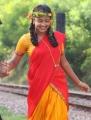 Amala Paul Cute Saree Stills in Sindhu Samaveli