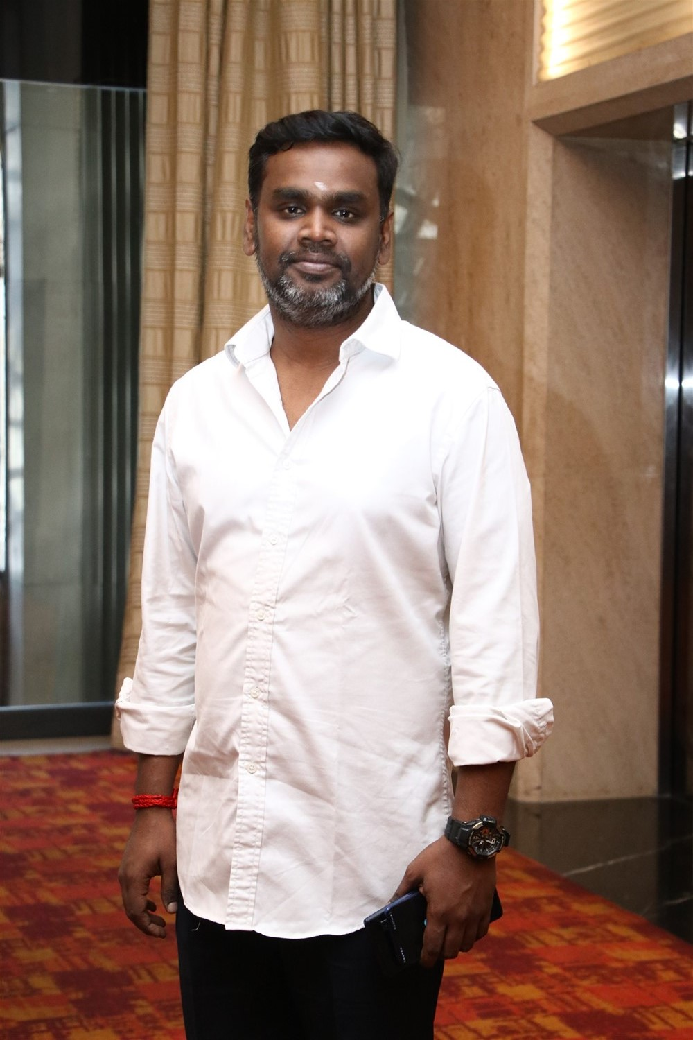 Producer SN Rajarajan @ Sindhubaadh Audio Launch Stills