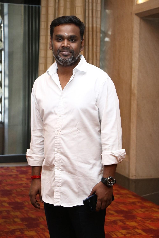 Producer SN Rajarajan @ Sindhubaadh Audio Launch Stills