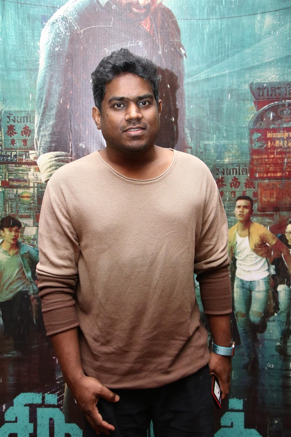 Music Director Yuvan Shankar Raja @ Sindhubaadh Audio Launch Stills