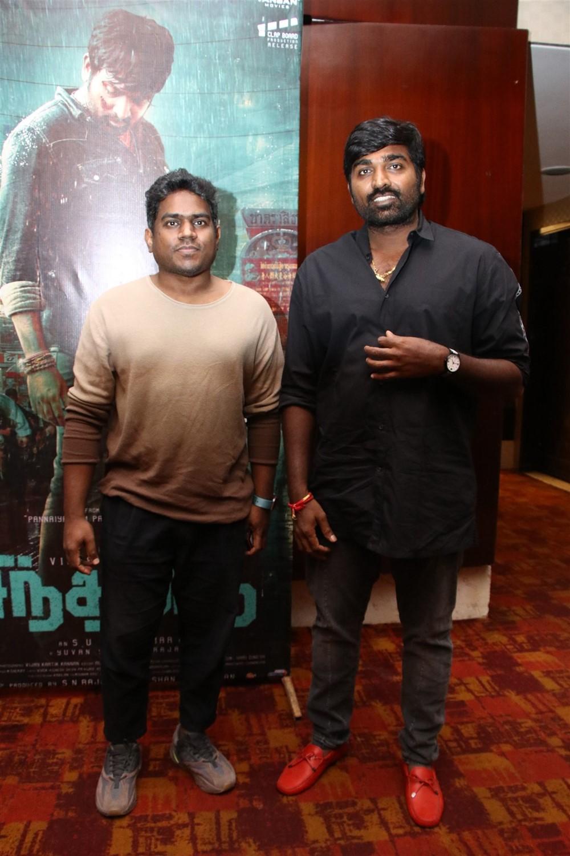 Yuvan Shankar Raja, Vijay Sethupathi @ Sindhubaadh Audio Launch Stills