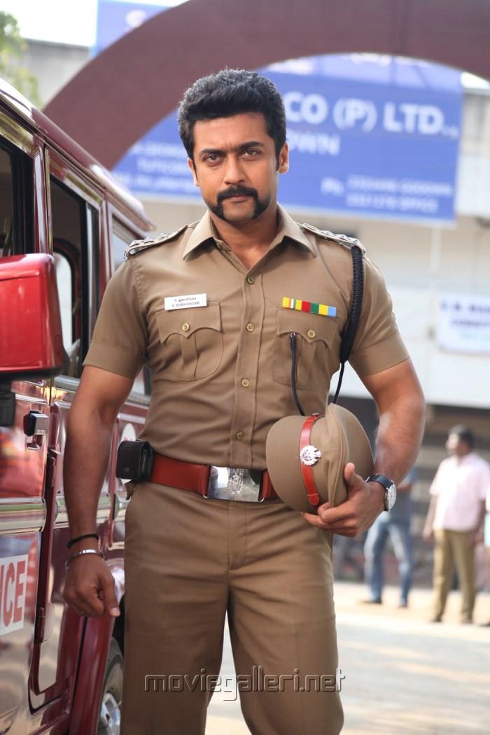 Actor Suriya in Singam 2 Movie First Look Stills