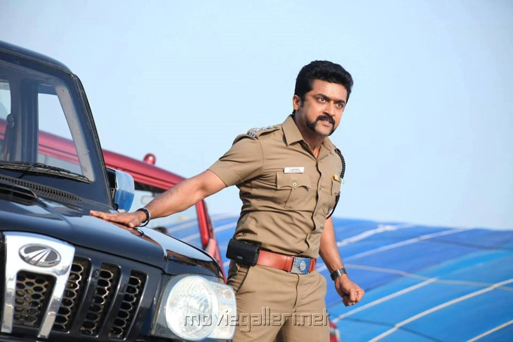 Surya New Photos in Singam 2 Actor Surya in Singam 2 Movie