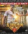 Actor Suriya's Singam 2 Movie Release Posters