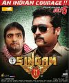 Santhanam, Suriya in Singam 2 Movie Release Posters