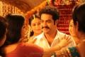 Abhinaya, NTR in Singamagan Movie Stills