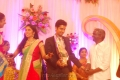 Karthik Raja at Singer MK Balaji Priyanka Wedding Reception Photos
