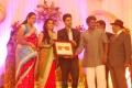 R.Parthiban at Singer MK Balaji Priyanka Wedding Reception Photos