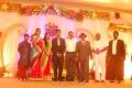 SP Muthuraman at Singer MK Balaji Priyanka Wedding Reception Photos