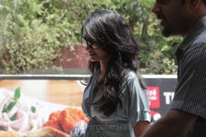 Singer Suchitra Latest Stills at Cafe Coffee Day Lounge