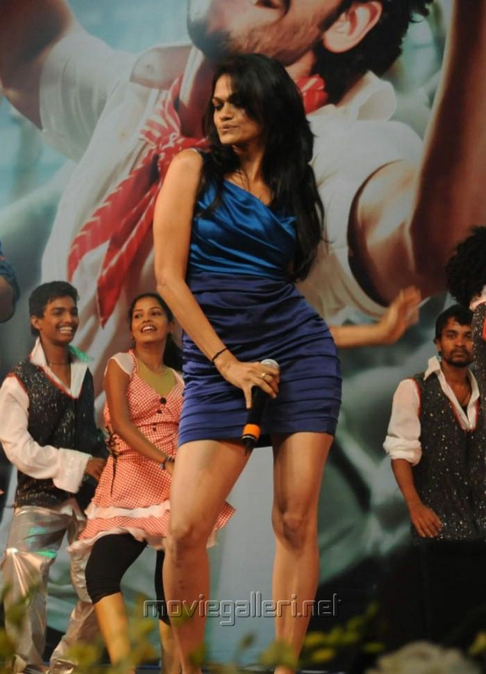 Singer Suchitra Hot Photos @ Dhada Audio Launch