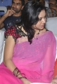 Singer Sunitha in Pink Saree Pics at Park Audio Release