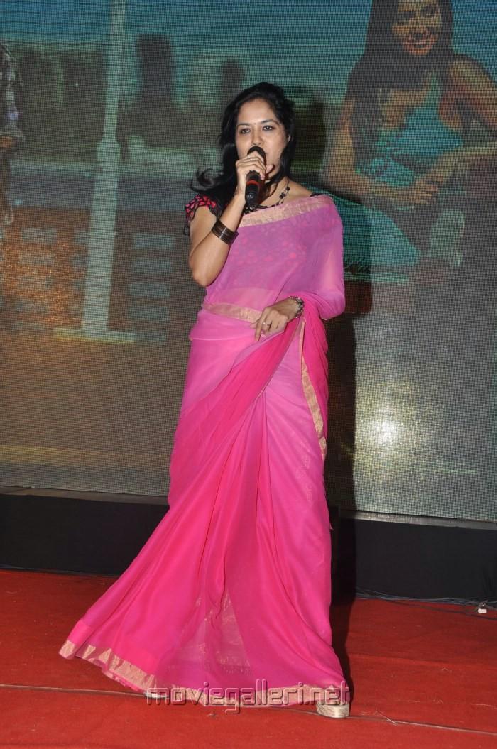 Picture 461168  Telugu Singer Sunitha Hot Pink Transparent Saree Pics  New Movie Posters-8000