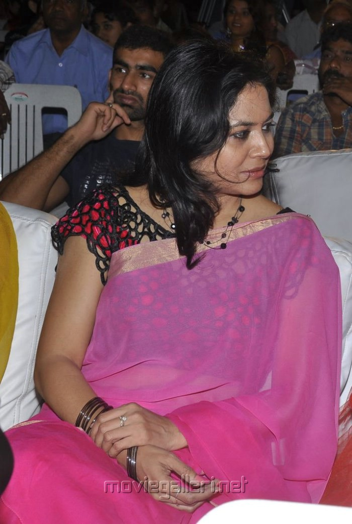 Picture 461171  Singer Sunitha Pink Saree Pics At Park Audio Launch  New Movie Posters-2691