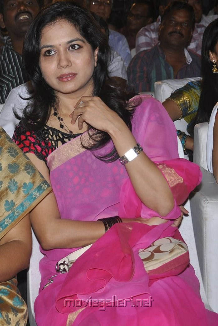 Picture 461184  Singer Sunitha Pink Saree Pics At Park Audio Launch  New Movie Posters-6992