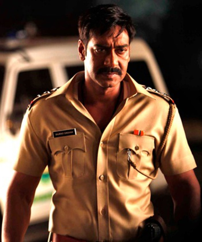 Kajal Agarwal Ajay Devgan Singham Movie Photos