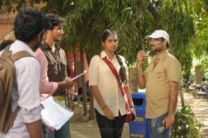 Lakshmi Menon, Saravanan at Sippai Movie On Location Photos