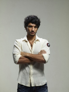Actor Gautham Karthik in Sippai Movie First Look Photoshoot Images