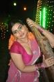 Actress Babilona Hot Stills at Siruvani Movie Shooting Spot