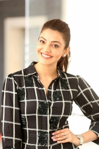 Actress Kajal Agarwal @ Sita Movie Interview Pictures HD