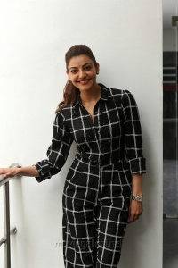 Sita Movie Actress Kajal Aggarwal Interview Pictures HD