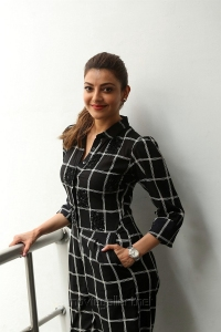 Actress Kajal Aggarwal @ Sita Movie Interview Pictures HD