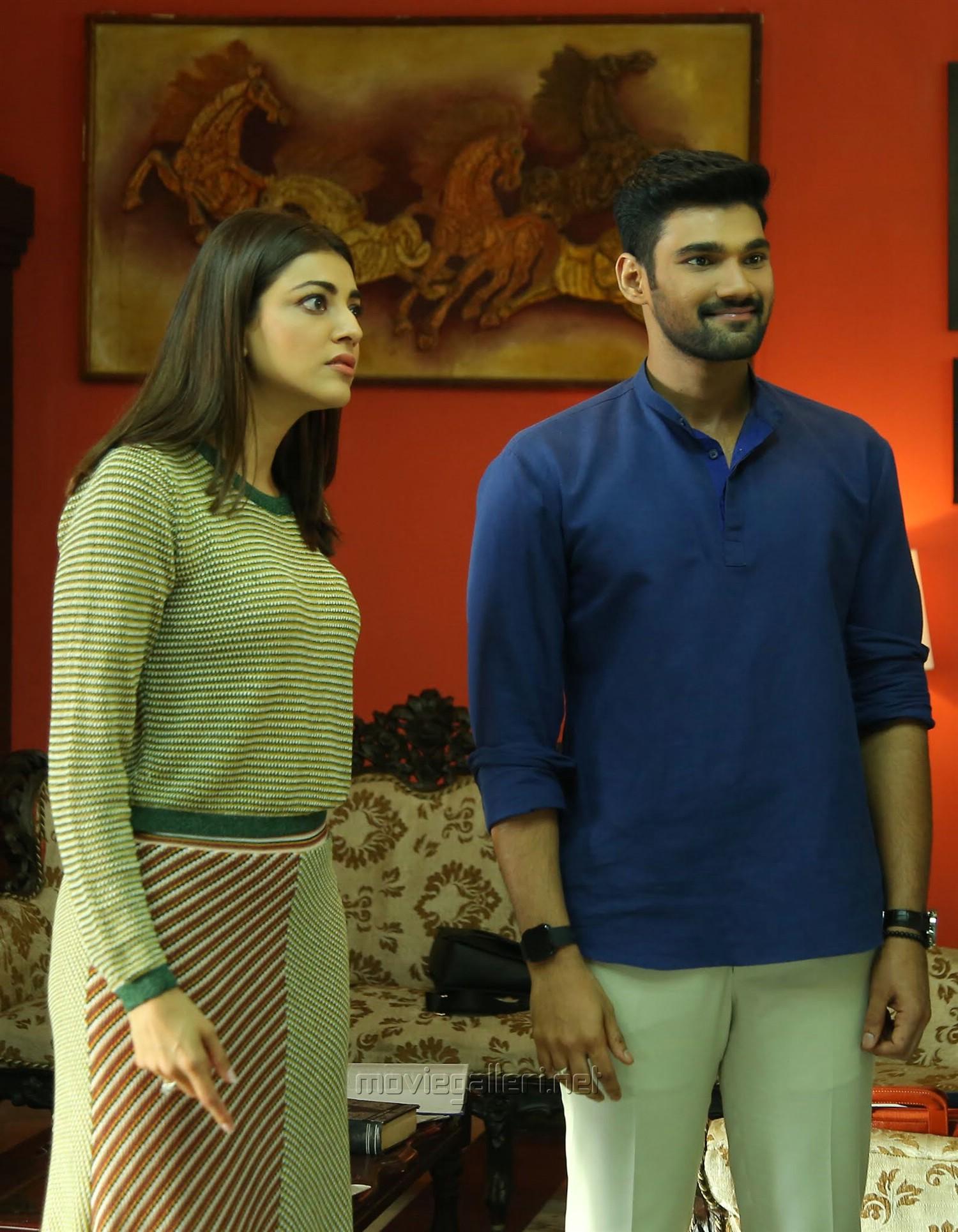 Kajal Agarwal, Bellamkonda Srinivas in Sita Movie HD Images