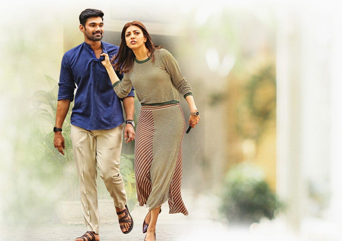 Bellamkonda Srinivas, Kajal Agarwal in Sita Movie HD Images