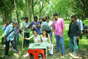Kajal, Bellamkonda Sreenivas @ Sita Movie Working Stills