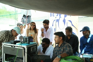Kajal Agarwal @ Sita Movie Working Stills