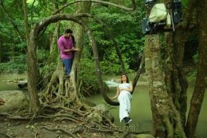 Bellamkonda Sai Sreenivas, Kajal Agarwal @ Sita Movie Working Stills