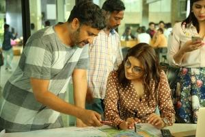 Teja, Kajal Agarwal @ Sita Movie Working Stills